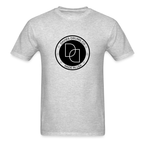 Davies Drums Logo (no BG) - Men's T-Shirt