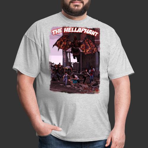 The Hellaphant Full Scene - Men's T-Shirt