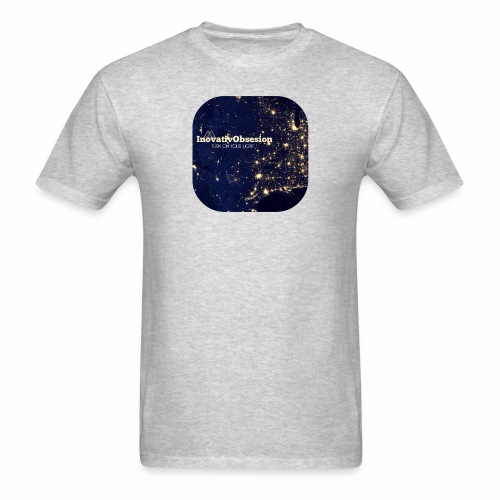 "InovativObsesion ""TURN ON YOU LIGHT"" Apparel - Men's T-Shirt"