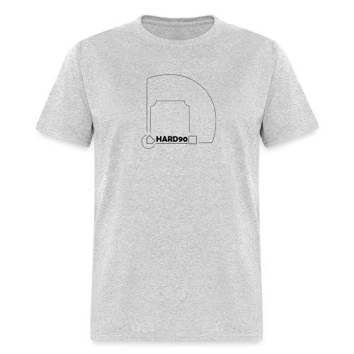 Hard 90 field - Men's T-Shirt