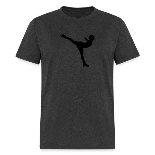 Ice Skating Woman Silhouette - Men's T-Shirt