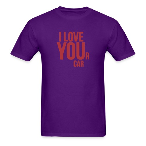 I LOVE YOUr car - Men's T-Shirt