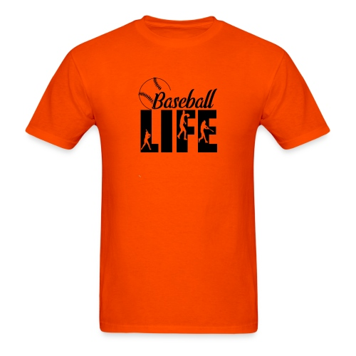 Baseball life - Men's T-Shirt
