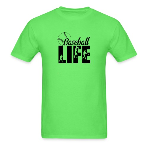 Baseball life - Men's T-Shirt