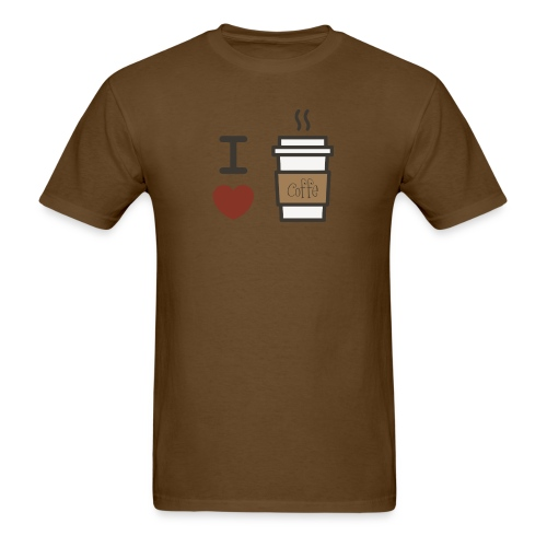 I Love Coffee - Men's T-Shirt