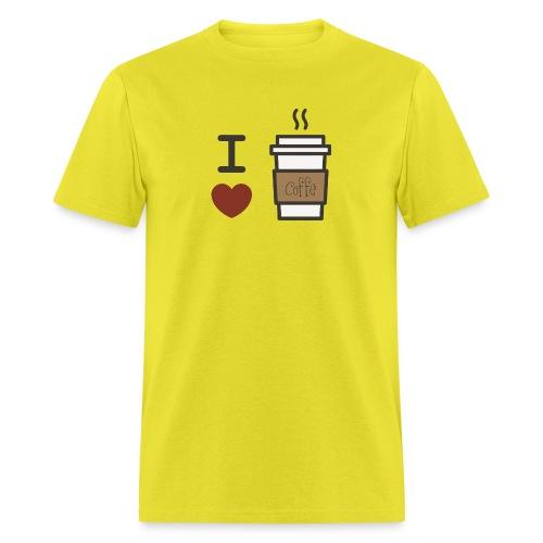 I Love Coffee - Men's T-Shirt