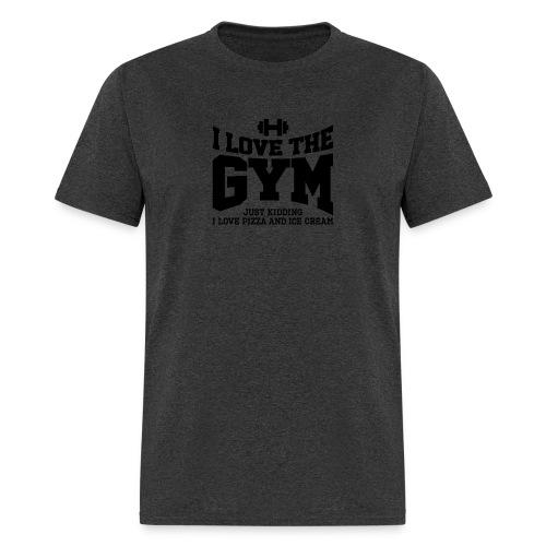 I love the gym - Men's T-Shirt