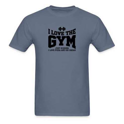 I love the gym - Men's T-Shirt