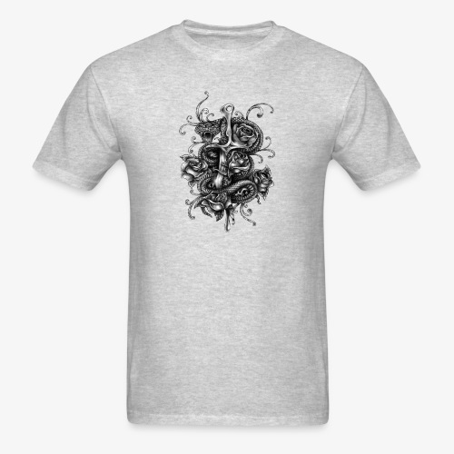 Dagger And Snake - Men's T-Shirt