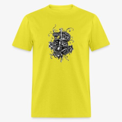 Dagger And Snake - Men's T-Shirt