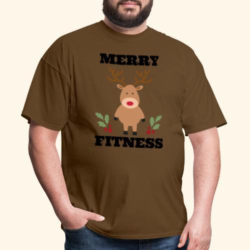 merry fitness Christmas Tee - Men's T-Shirt