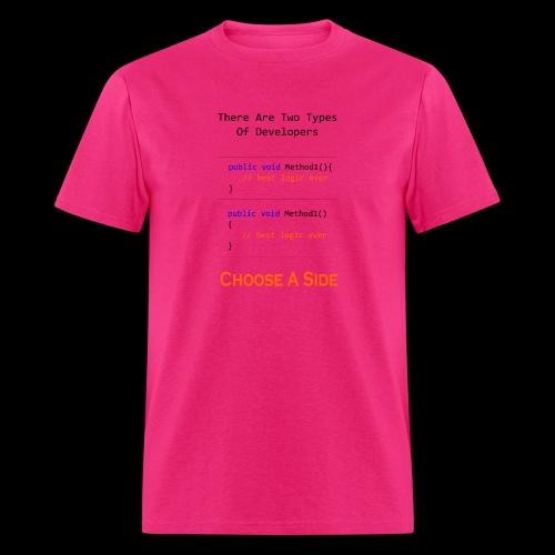Code Styling Preference Shirt - Men's T-Shirt