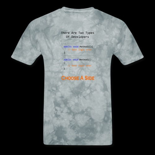 Code Styling Preference Shirt - Men's T-Shirt