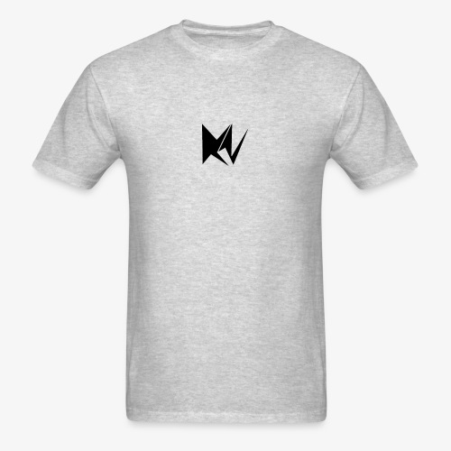 NK Transparent Black Logo - Men's T-Shirt