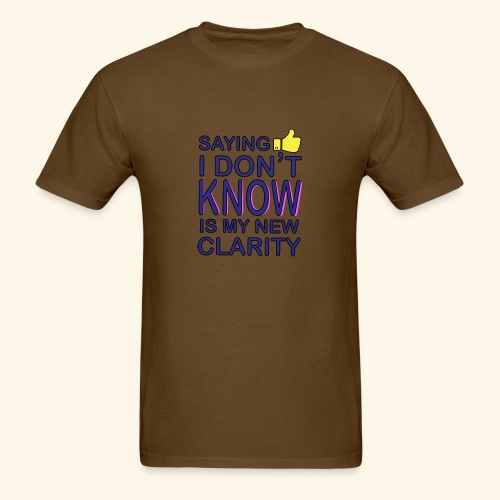 new clarity - Men's T-Shirt