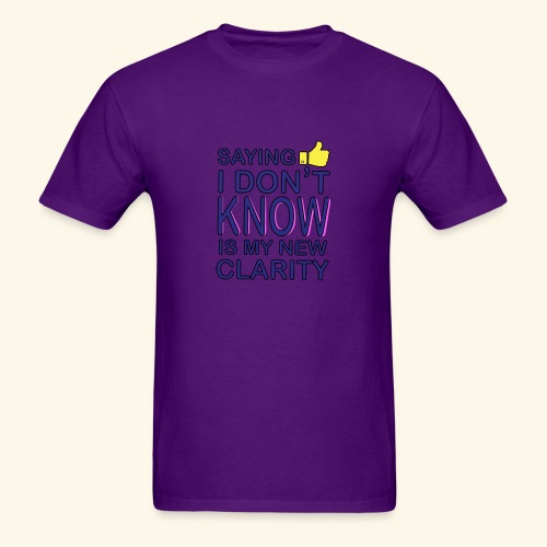 new clarity - Men's T-Shirt