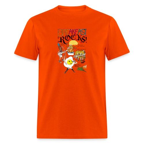 Breakfast Rocks! - Men's T-Shirt