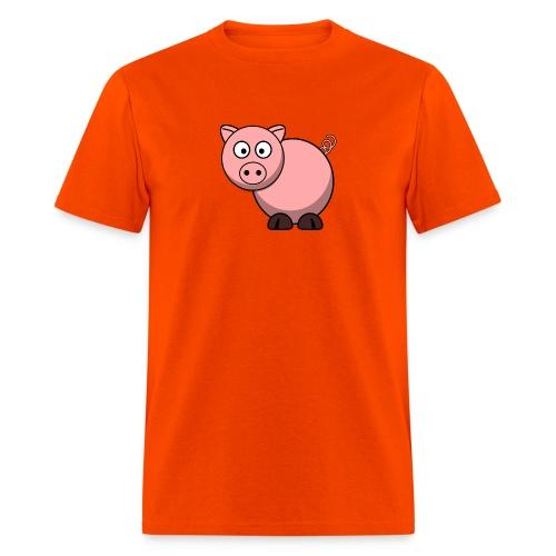 Funny Pig T-Shirt - Men's T-Shirt