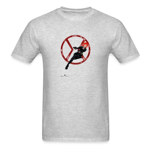 BULLETS AND BALLERINAS - Men's T-Shirt
