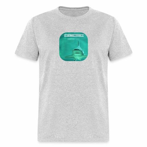 "InovativObsesion ""SHARKS DON'T SLEEP"" apparel - Men's T-Shirt"