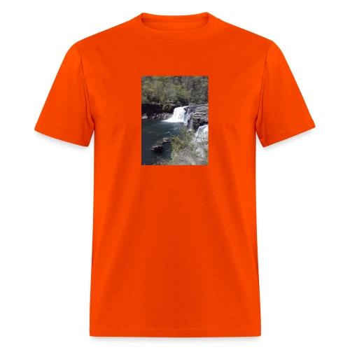 LRC waterfall - Men's T-Shirt