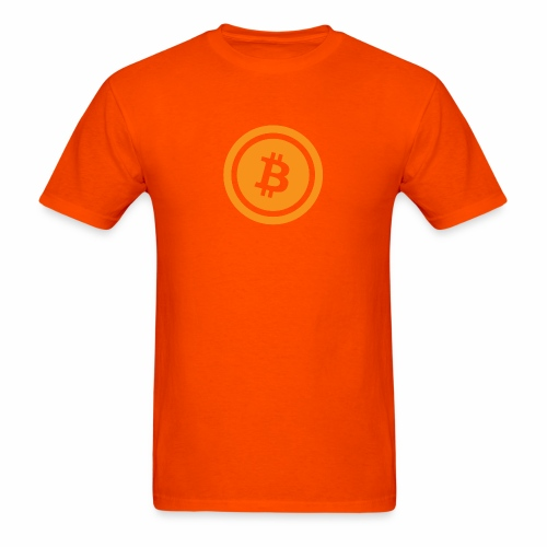Bitcoin branding 45 - Men's T-Shirt