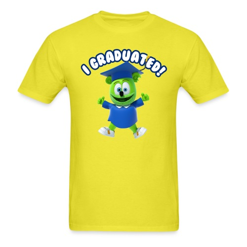 I Graduated! Gummibar (The Gummy Bear) - Men's T-Shirt
