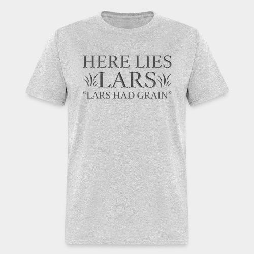 Here Lies Lars - Men's T-Shirt
