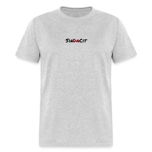 SinDaCit Text - Men's T-Shirt