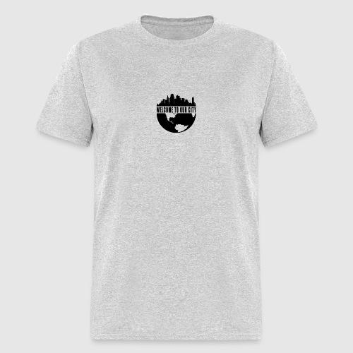 WTOC Logo Black - Men's T-Shirt