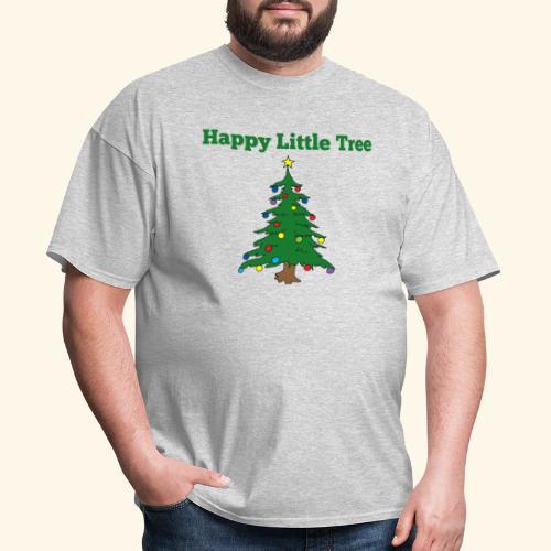 Christmas Tree HAPPY TREE TEE - Men's T-Shirt