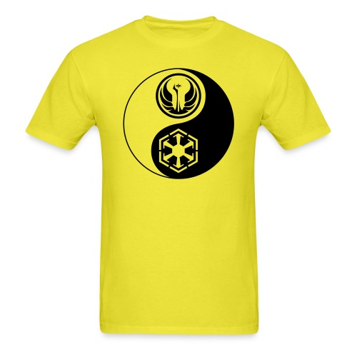 Star Wars SWTOR Yin Yang 1-Color Dark - Men's T-Shirt
