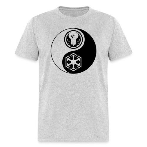 Star Wars SWTOR Yin Yang 1-Color Dark - Men's T-Shirt