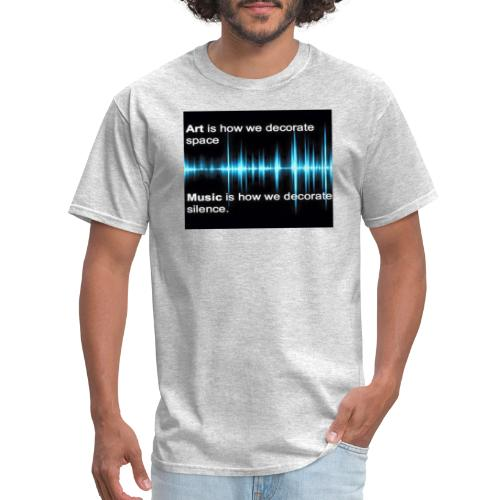 Music and art - Men's T-Shirt