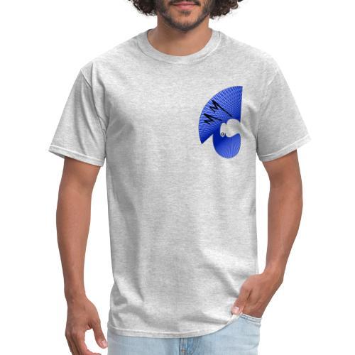 Matty Mohawk Logo Front & Back - Men's T-Shirt
