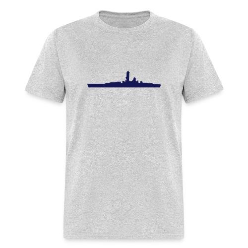 Battleship & UK Union Jack - Men's T-Shirt