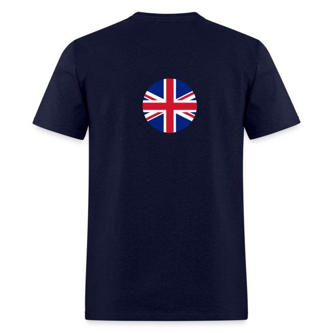 Battleship & UK Union Jack