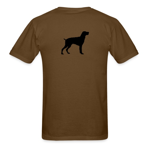 German Wirehaired Pointer - Men's T-Shirt