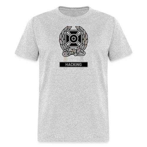 Expert Hacker Qualification Badge - Men's T-Shirt