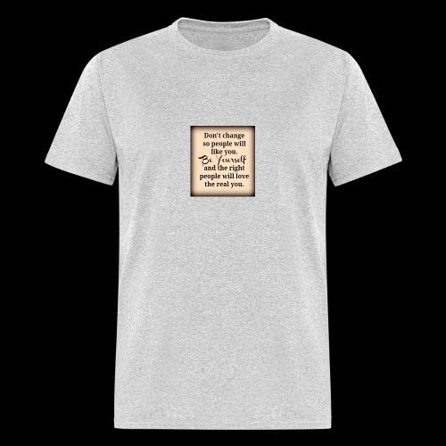 Be you - Men's T-Shirt