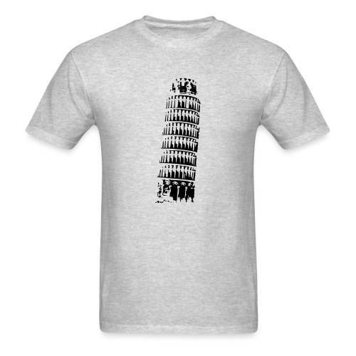 Leaning Tower of Pisa - Men's T-Shirt