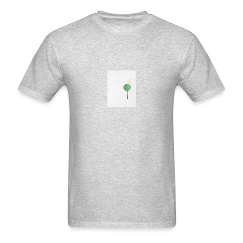 Tree with Crown - Men's T-Shirt