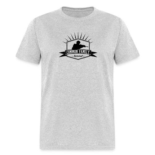 Common Family Survival YouTube Channel Logo - Men's T-Shirt