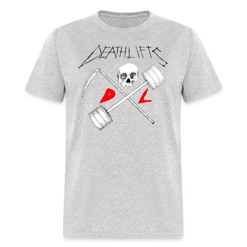 Deathlifts Crossed - Men's T-Shirt