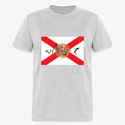 Sharkbaitz Flordia Flag - Men's T-Shirt