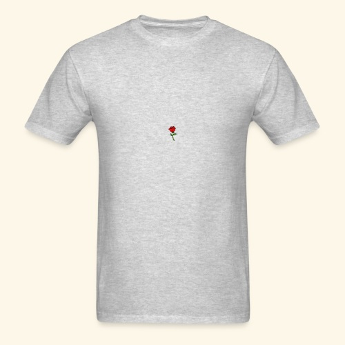 Rose Print - Men's T-Shirt