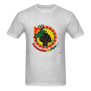 Cannabis On Fire 420 Power - Men's T-Shirt