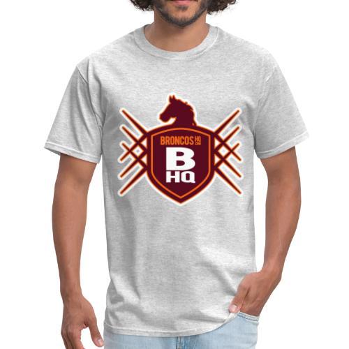 BroncosHQ Badge Logo - Men's T-Shirt