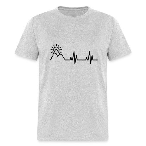 Heartbeat of a Traveler - Men's T-Shirt