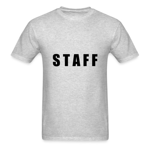 STAFF shirt - Men's T-Shirt